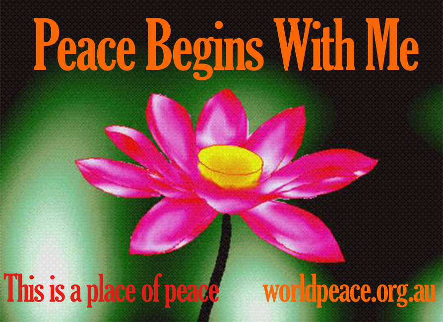 Download Free Peace Posters - World Peace Society of Australia